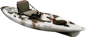 Kayak fly fishing for trout trout pro store for Cabelas fishing kayak